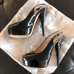 Black Patent leather Giuseppe Zanotti heels